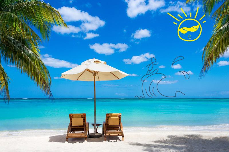 Felices vacaciones en el Caribe Mexicano