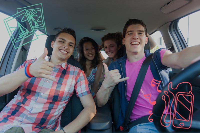 ¿Viajar en coche rentado es más económico?