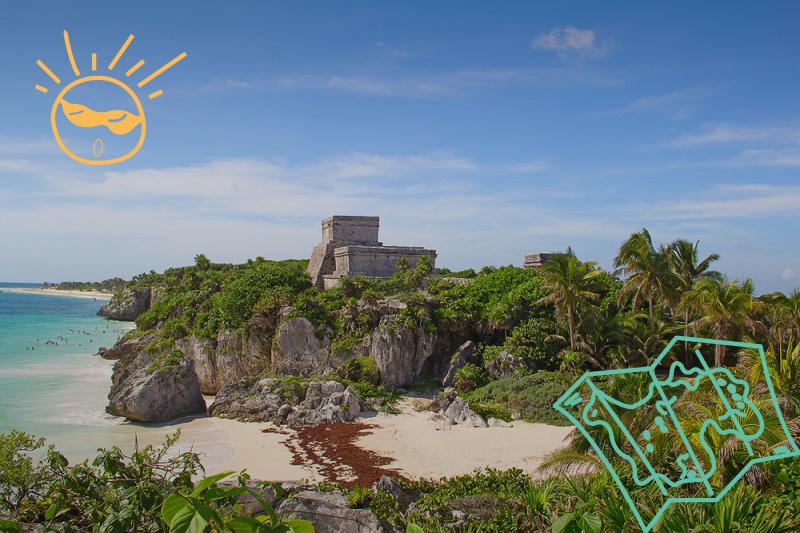 Autos económicos para viajar en familia por Yucatán y Quintana Roo