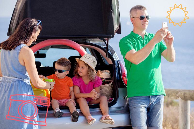 Road trip con tu familia durante las vacaciones de invierno