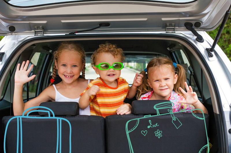 Viajes con la familia para escapar de la ciudad