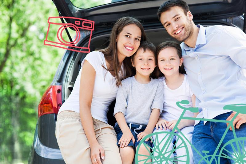 4 consejos para los viajes familiares en carretera