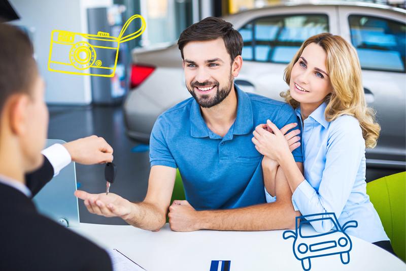 ¿Cómo puedo rentar un auto en 3 sencillos pasos?