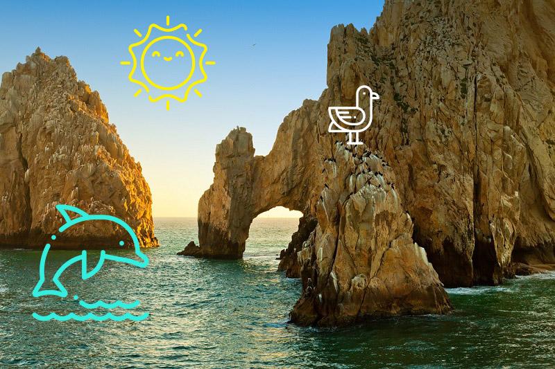 Viaja a los mejores 3 lugares turísticos de Los Cabos