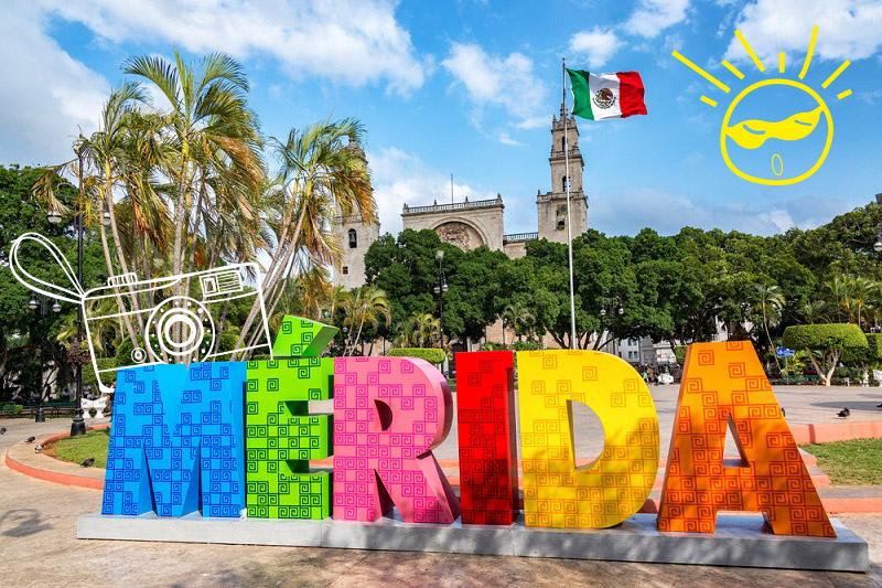 4 lugares para conocer en Mérida en un viaje corto