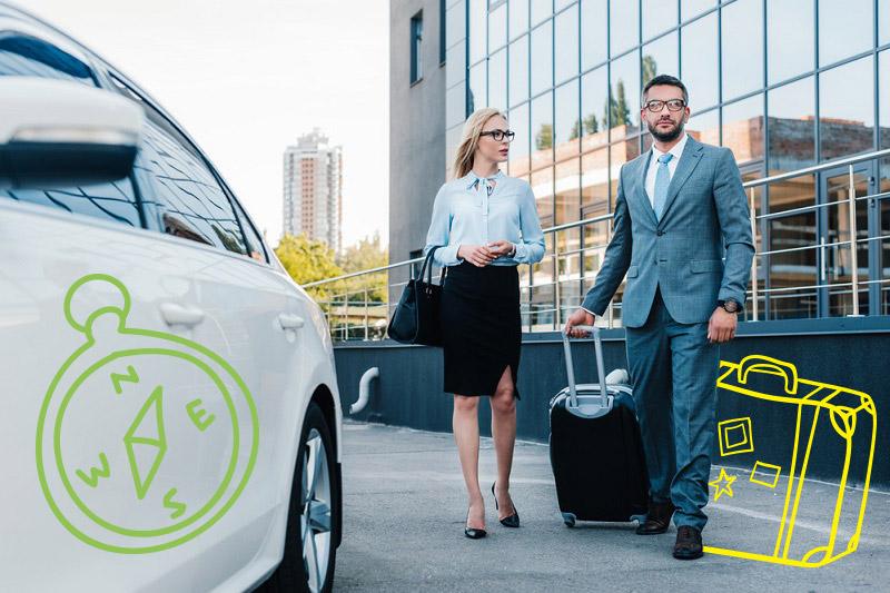 Tu mejor viaje de negocios con vehículo corporativo en alquiler