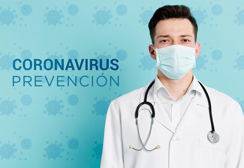 Información Coronavirus COVID -19: Viaja tranquilo, viaja feliz