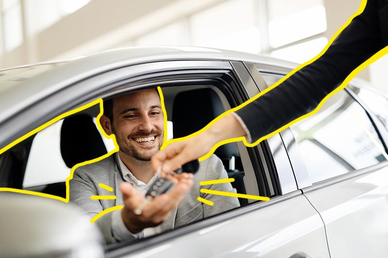 alamo pone en renta autos para negocio