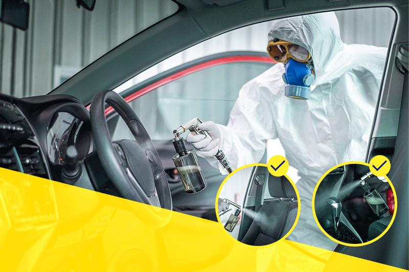 Protocolo de limpieza y desinfección en los autos ejecutivos ¿A qué estar atentos?