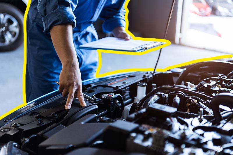 Alquiler de coches para empresas: conoce las 5 partes que necesitan mantenimiento