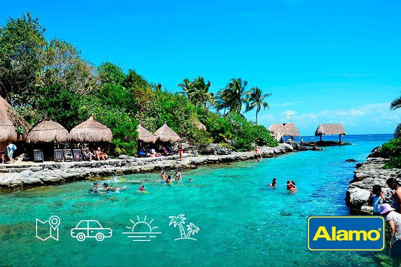 Renta un auto y traza una ruta por la Riviera Maya
