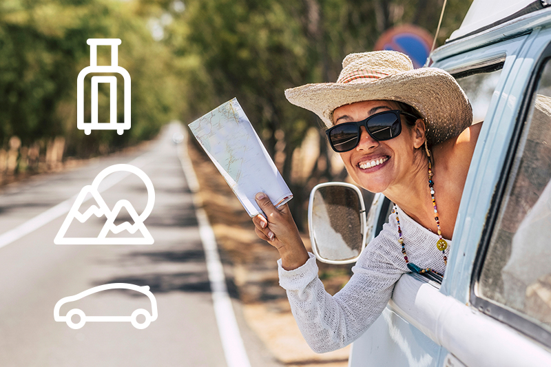 Renta un auto y planea tu ruta de viaje para disfrutar varios destinos
