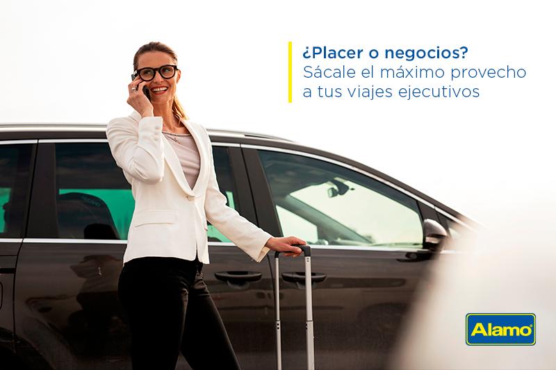 ¿Placer o negocios? Sácale el máximo provecho a tus viajes ejecutivos