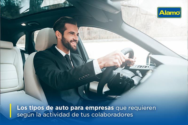 Los tipos de auto para empresas que requieren según la actividad de tus colaboradores
