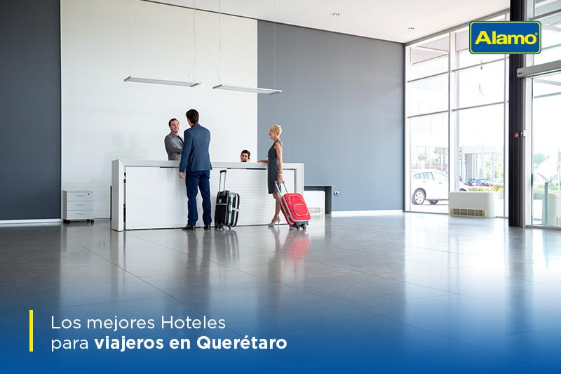 Los mejores Hoteles para viajeros en Querétaro